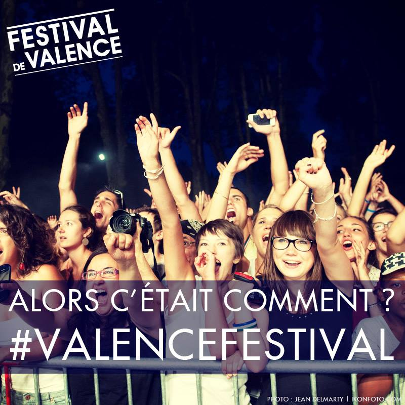 Réseaux sociaux du Festival de Valence